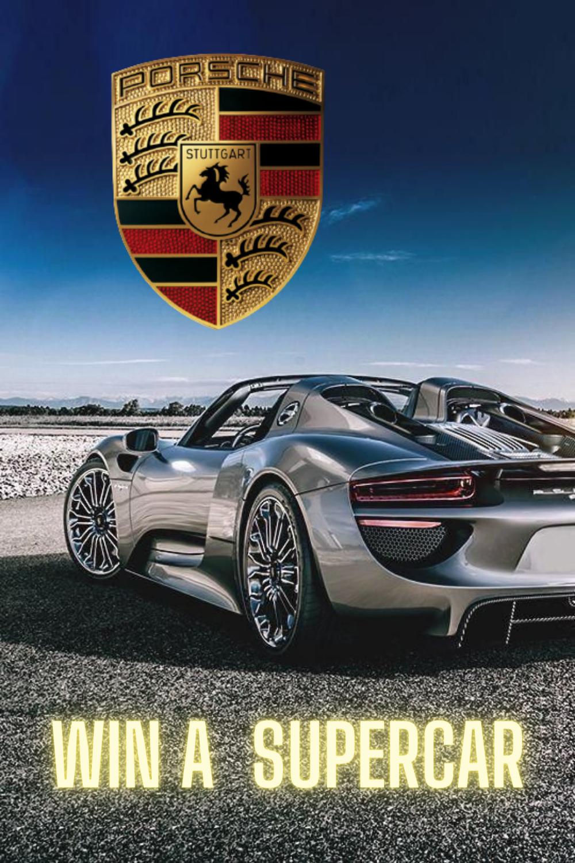 Win A Porsche Supercar Super Cars Cloud Mining Porsche