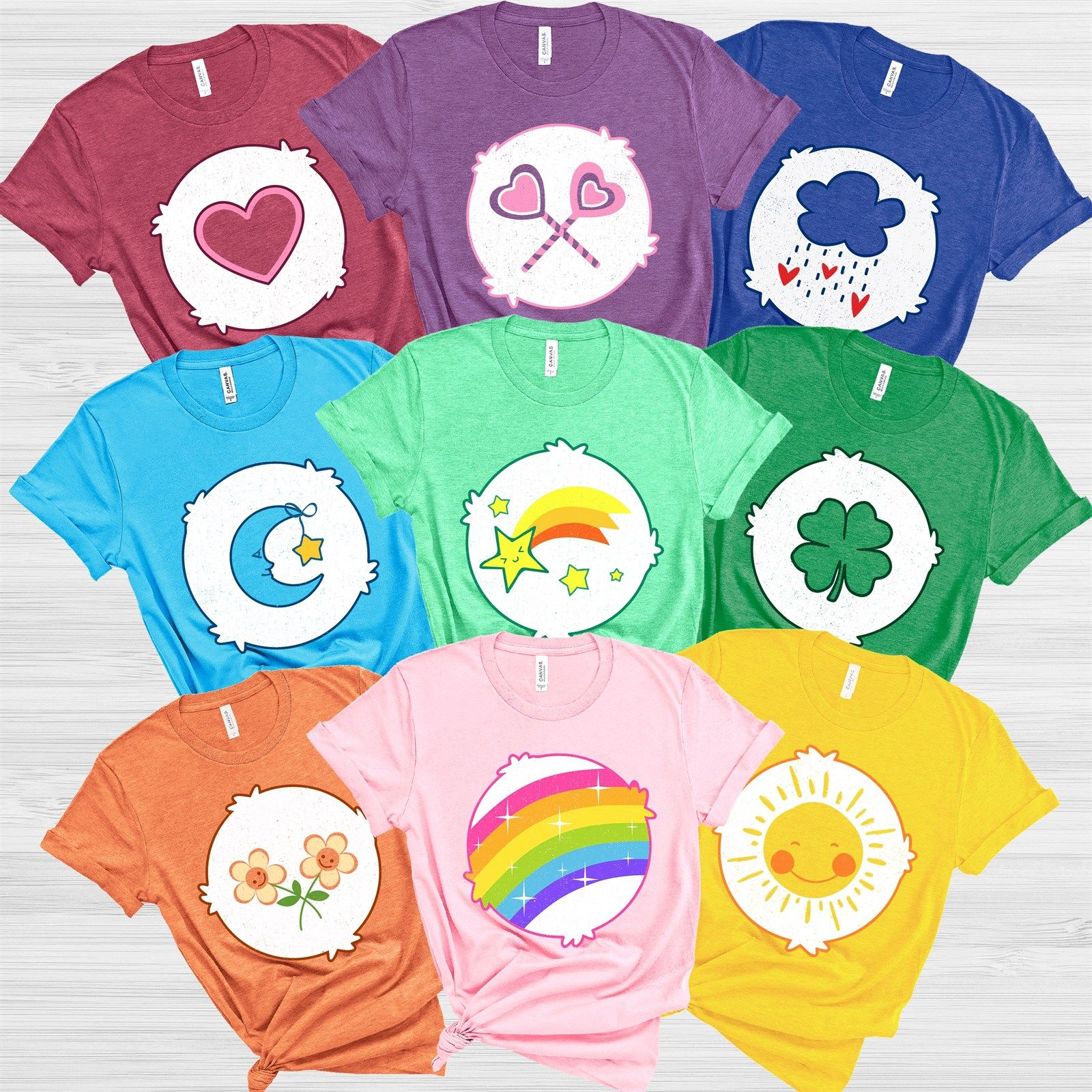 Soft Cute Bear Costume Tees
