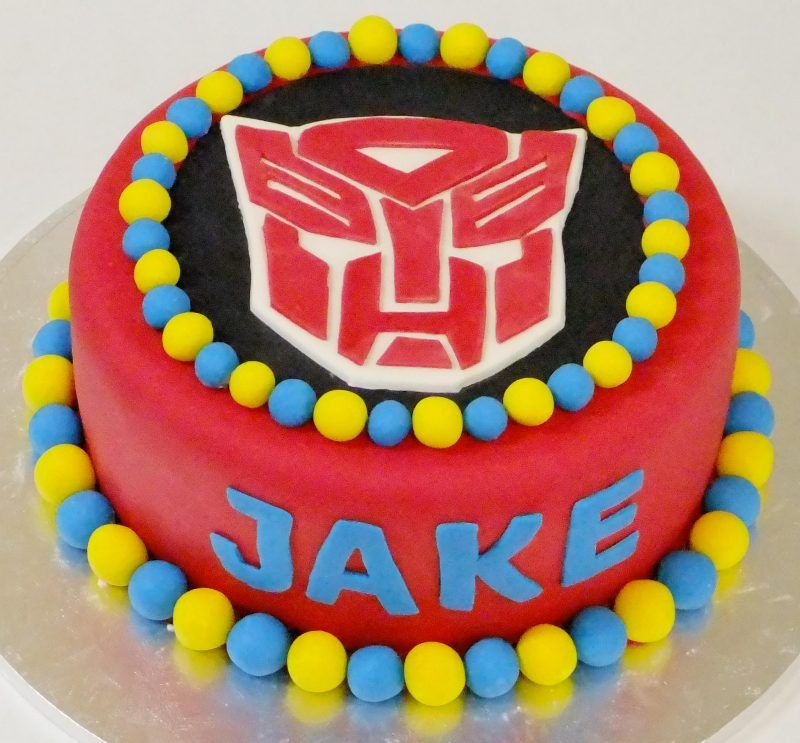 Terrific Transformer Birthday Cake Cumpleanos Fiesta Funny Birthday Cards Online Alyptdamsfinfo