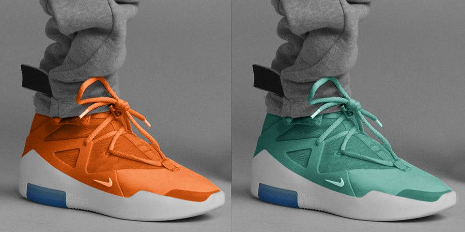 Three More Colorways of the Nike Air Fear of God 1 Are