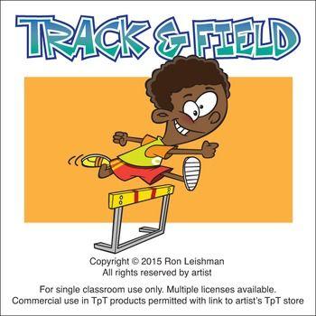 Track Field Cartoon Clipart Field Cartoon Cartoon Clip Art Clip Art