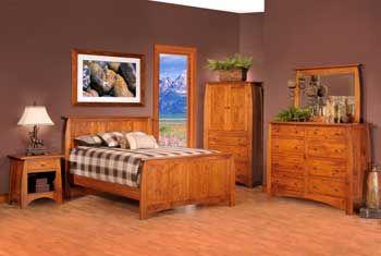 Puritan Furniture  CT.   Bordeaux Solid Wood Bedroom