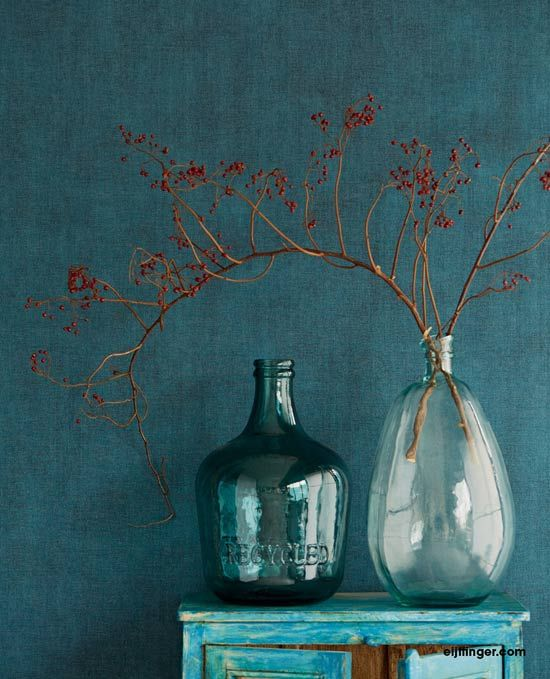 Eijffinger Lino | Turquoise a Greenish Blue Color | Pinterest | Wabi ...