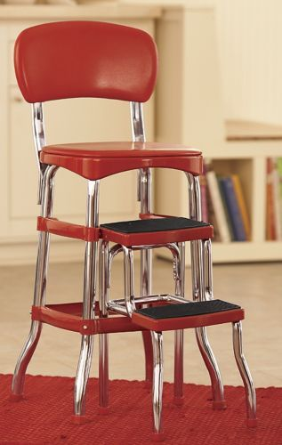 Counter Height Retro Step Stool Step Stool Furniture Stool
