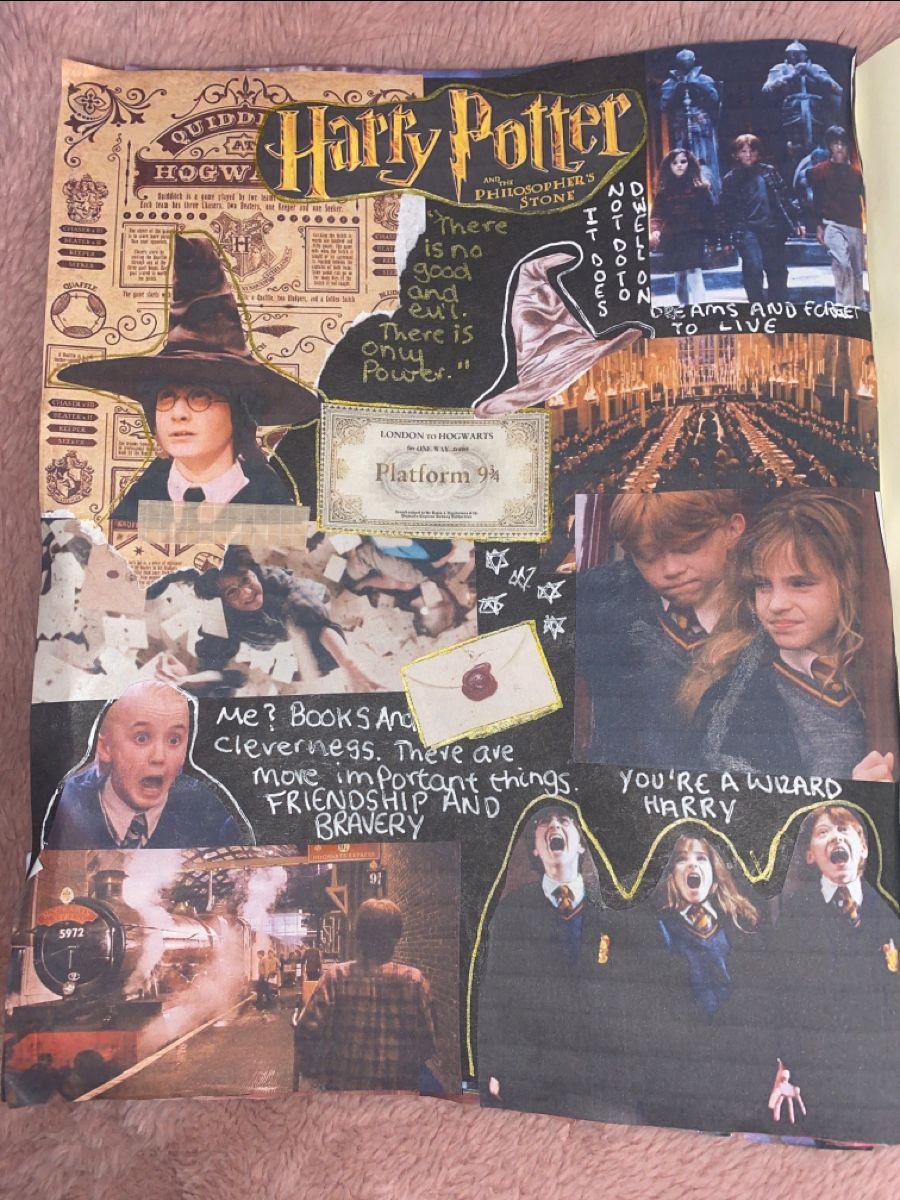 Harry Potter film journal @journalwsophie_