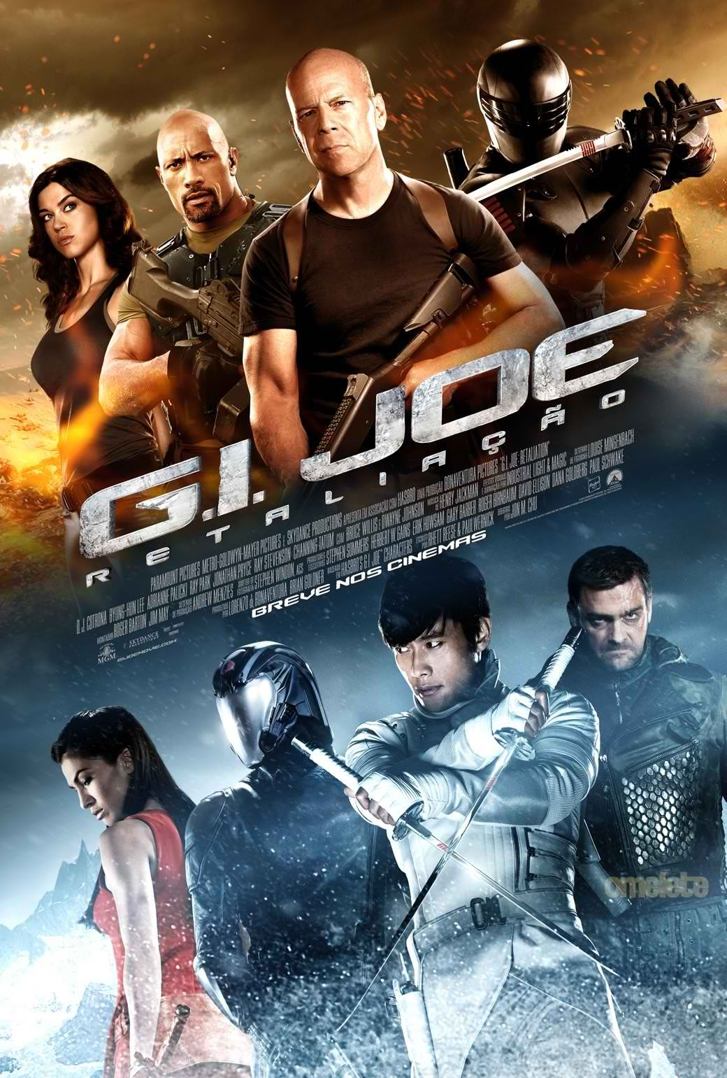 Despite The Somewhat Generic Looking Action Movie Poster G I Joe