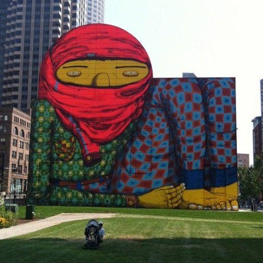Quince impresionantes murales del tamaño de un edificio | Cooking Ideas