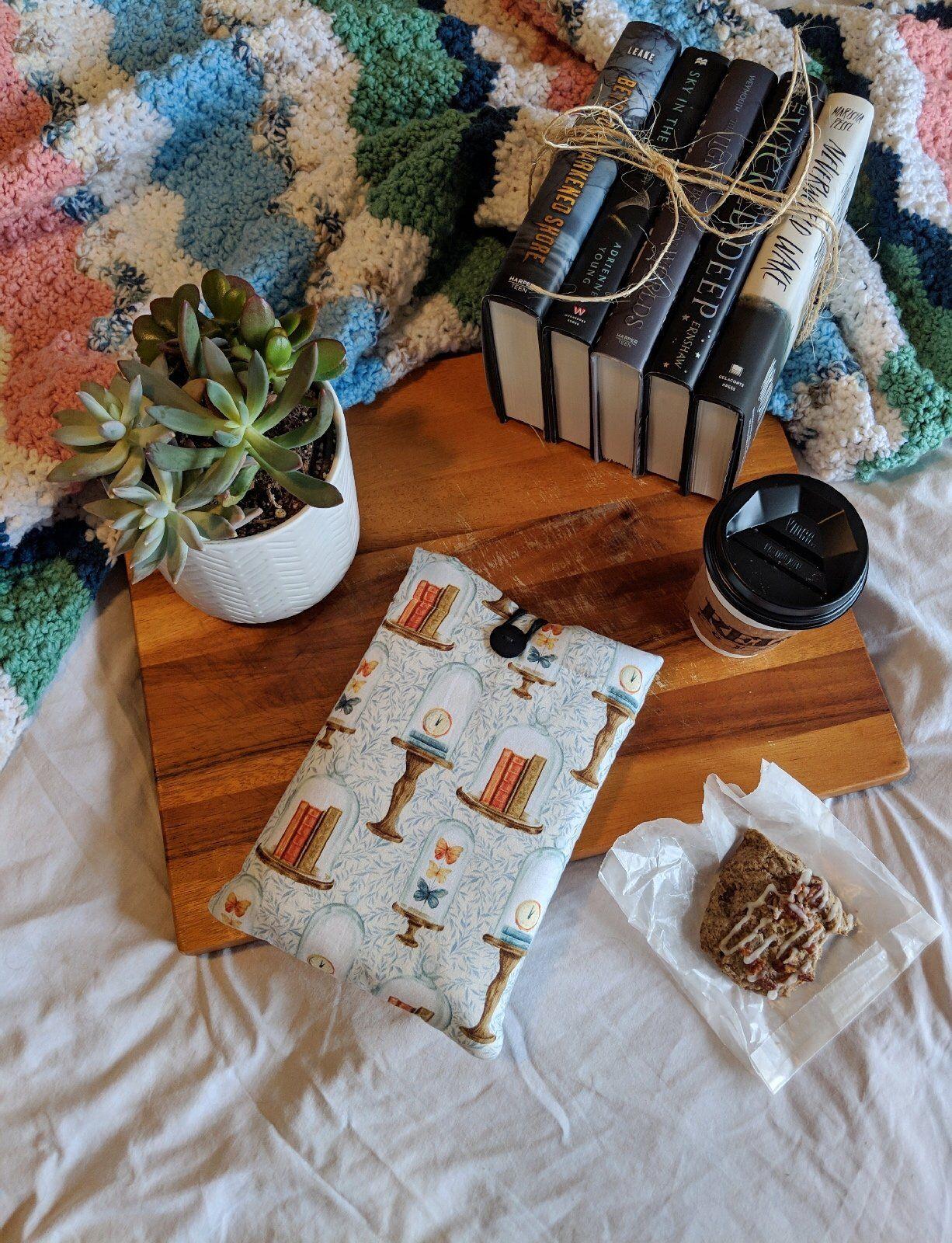Handmade Book Sleeves, Laptop Sleeves, Tea Bag Organizers