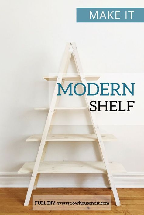 Modern A Frame Plant Stand | Shelves, Plants and Storage