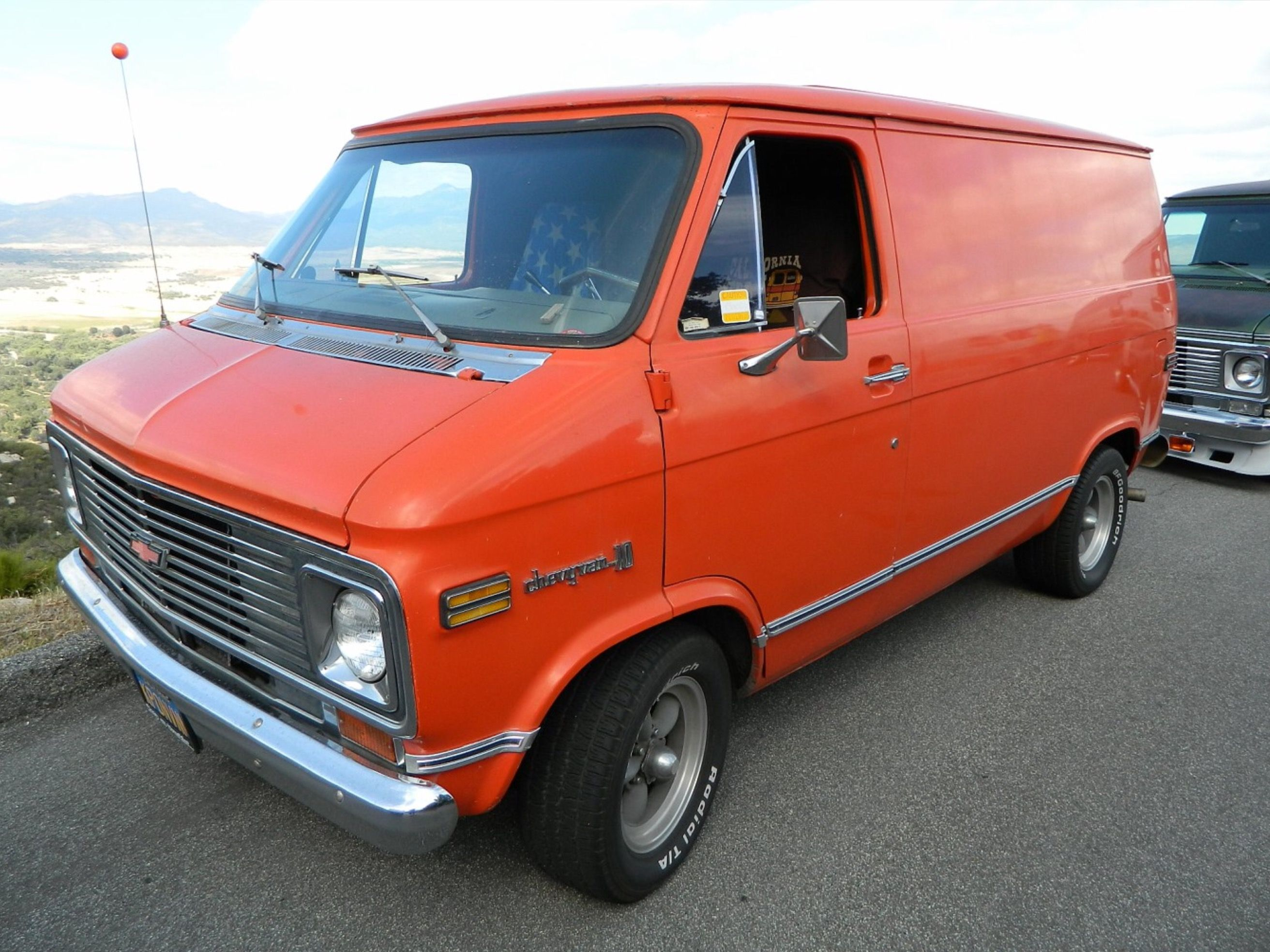 Pin By Sebastien Duchesne On 70s Chevy Vans Cool Vans Chevy Van Custom Vans