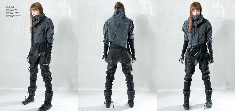 "DEMOBAZA - ""DEMOWOMAN"" - A/W 12/13, cyberpunk clothes ..."