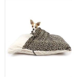 Pet Pocket Pillow Bed For Dogs So They Too Can Sleep Under The