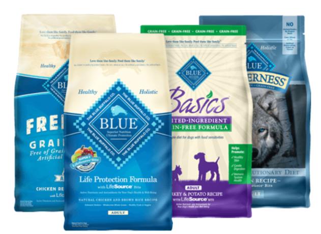BLUE Buffalo's True Blue promise is the pillar of their