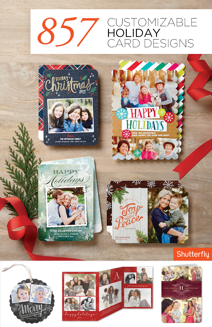 Ring in the holidays with Shutterfly\'s heartfelt and personalized ...