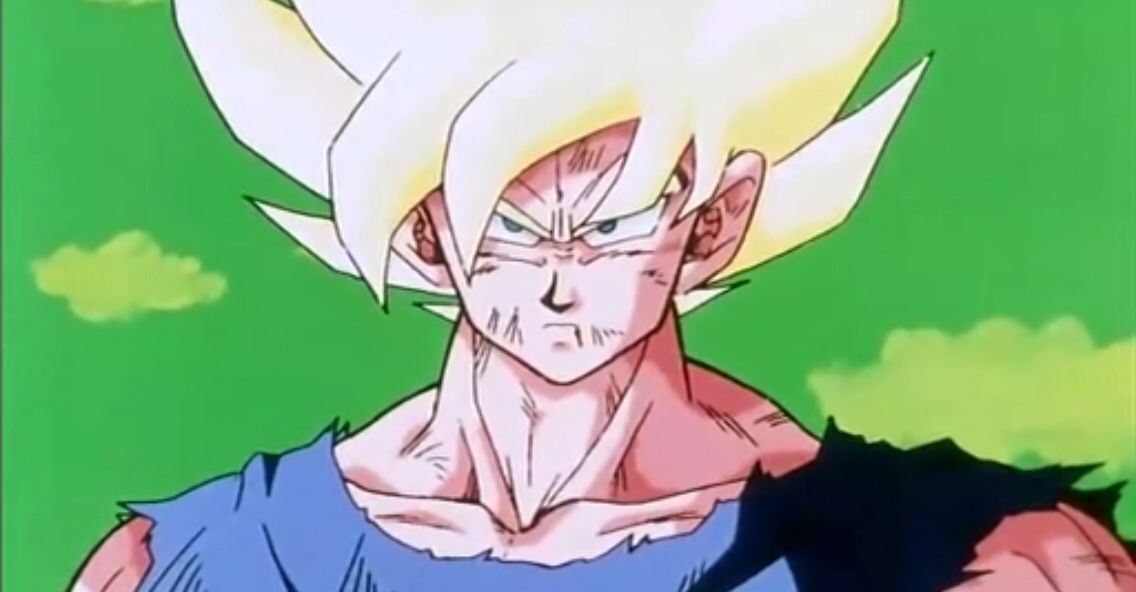 Son Goku Becoming A Super Saiyan For The First Time Dragon Ball Art Goku Dragon Ball