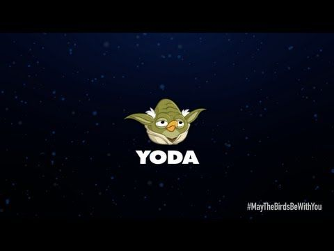 Angry Birds Star Wars 2 character reveals Yoda - YouTube angry - fresh angry birds go jenga coloring pages