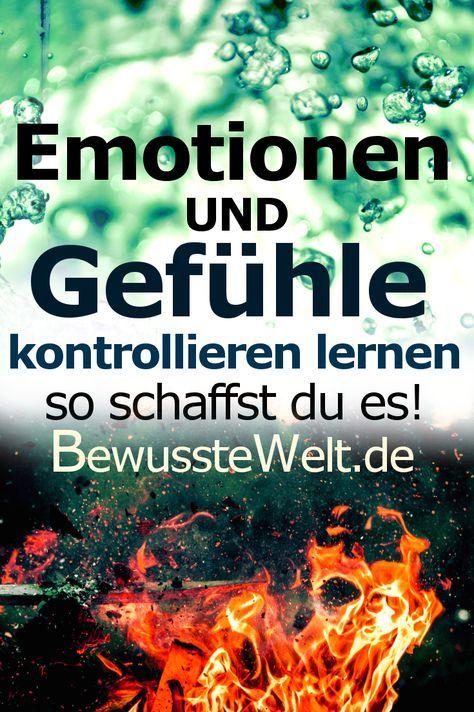 Emotionen Kontrollieren Lernen