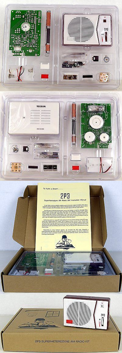Ham radio receivers tecsun 2p3 am radio receiver kit diy for ham radio receivers tecsun 2p3 am radio receiver kit diy for enthusiasts built solutioingenieria Gallery