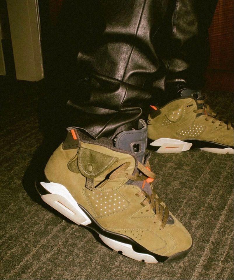 Nike Travis Scottコラボair Jordan 6 Cactus Jackが2019年夏に発売予定 Sneakers Retro Shoes Air Jordans