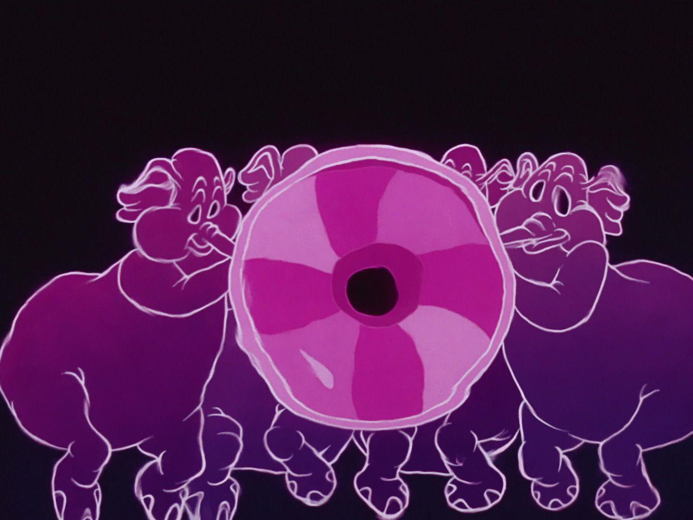 Pink Elephants Dumbo 1941 Disney Stills In 2019 Elephant Movie