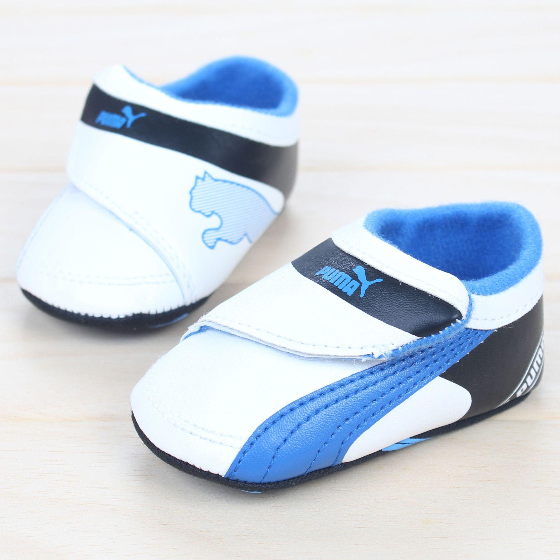 puma Baby Shoes Soft Bottom Boy Prewalker Shoes Pinterest