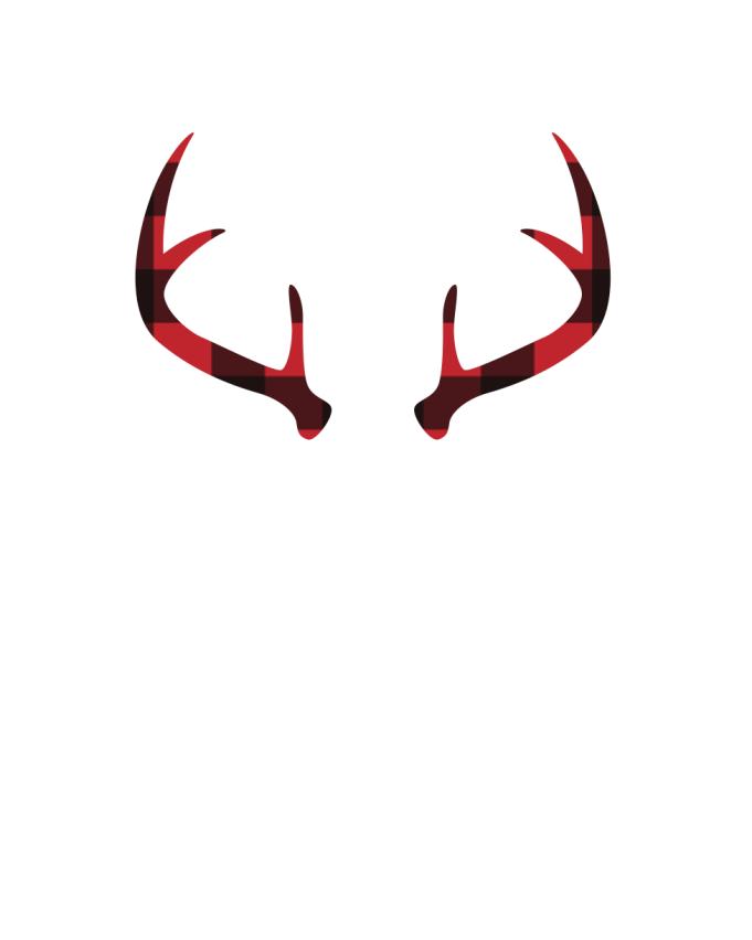 Red Buffalo Plaid Antlers Free Printable Burlap Baby