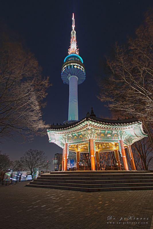 Super Nice 62 Beautiful Images Of Namsan Seoul Tower South Korea Korea Selatan Tempat Liburan Menara