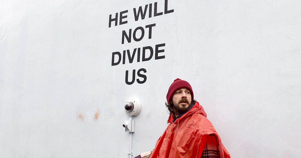 Shia LaBeouf Arrested After Fight at Anti-Trump Protest: Shia LaBeouf was arrested after getting in a fight at an anti-Trump art installation he helped organize in Queens, the Daily News reports.According to police, theThis article originally appeared on www.rollingstone.com: Shia LaBeouf Arrested After Fight at Anti-Trump Protest http://www.rollingstone.com/movies/news/shia-labeouf-arrested-after-fight-at-anti-trump-protest-w463130?utm_source=rss&utm_medium=Sendible&utm_campaign=RSS