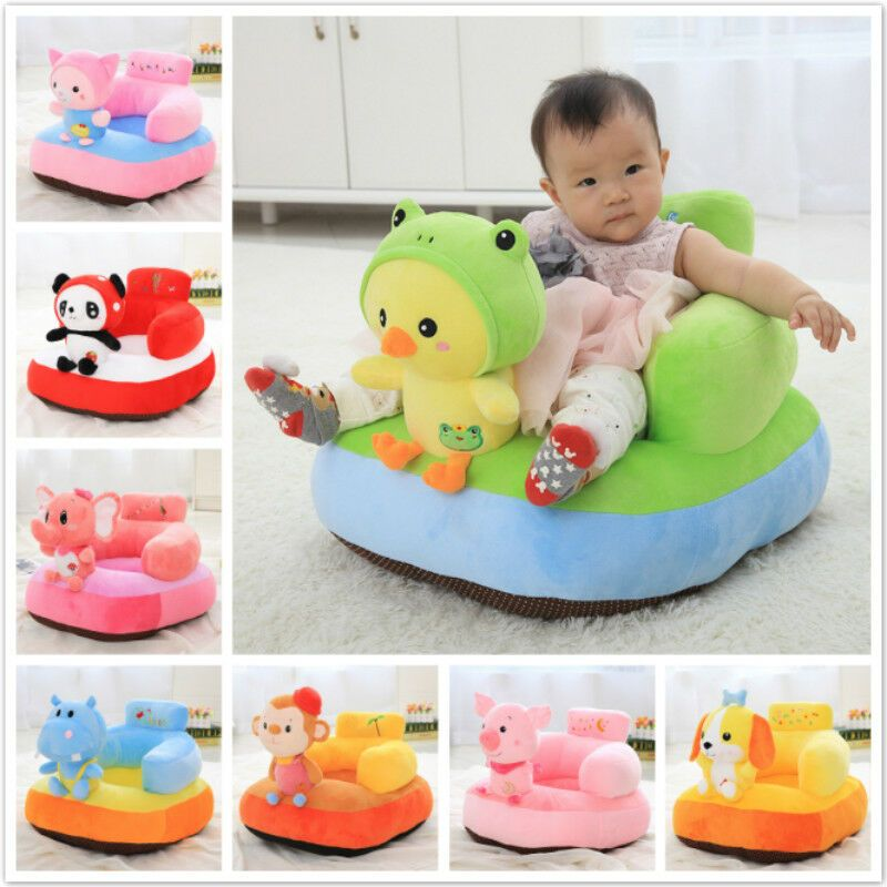 Baby Sofa Back Support Learn To Seat Chair For Boy And Girl Couch Plush Pillow Ebay Baby Sofa Baby Pillows Baby Chair