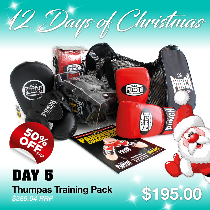 ... Punch Boxing Equipment. Christmas Pack for Personal Trainers! Save   170! 1x Bag Busters Mitts (XL af00f3ee648d0