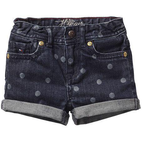 nueva llegada 76448 1e691 pantalon corto mezclilla con lunares | pantalones y faldas ...