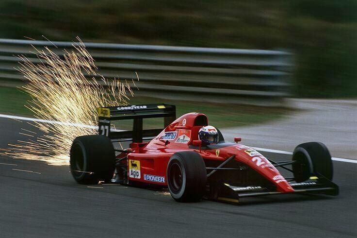 The Prettiest Ferrari Formula 1 car