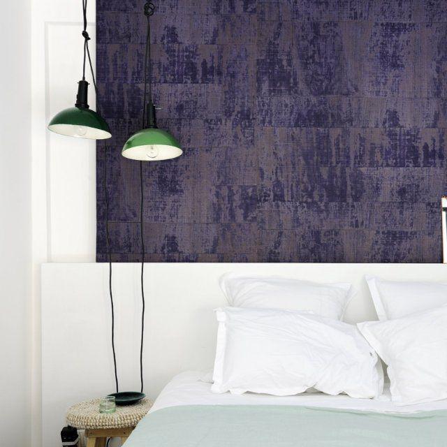inspiration papier peint trompe l 39 oeil ou effet mati re atelier. Black Bedroom Furniture Sets. Home Design Ideas