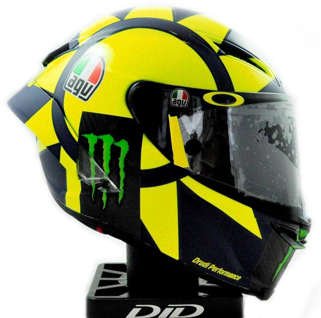 Valentino Rossi 2018 campaign AGV helmet Valentino rossi