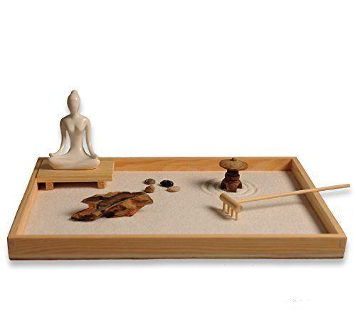 Garden Bridges ICNBUYS Zen Garden with Buddha Status