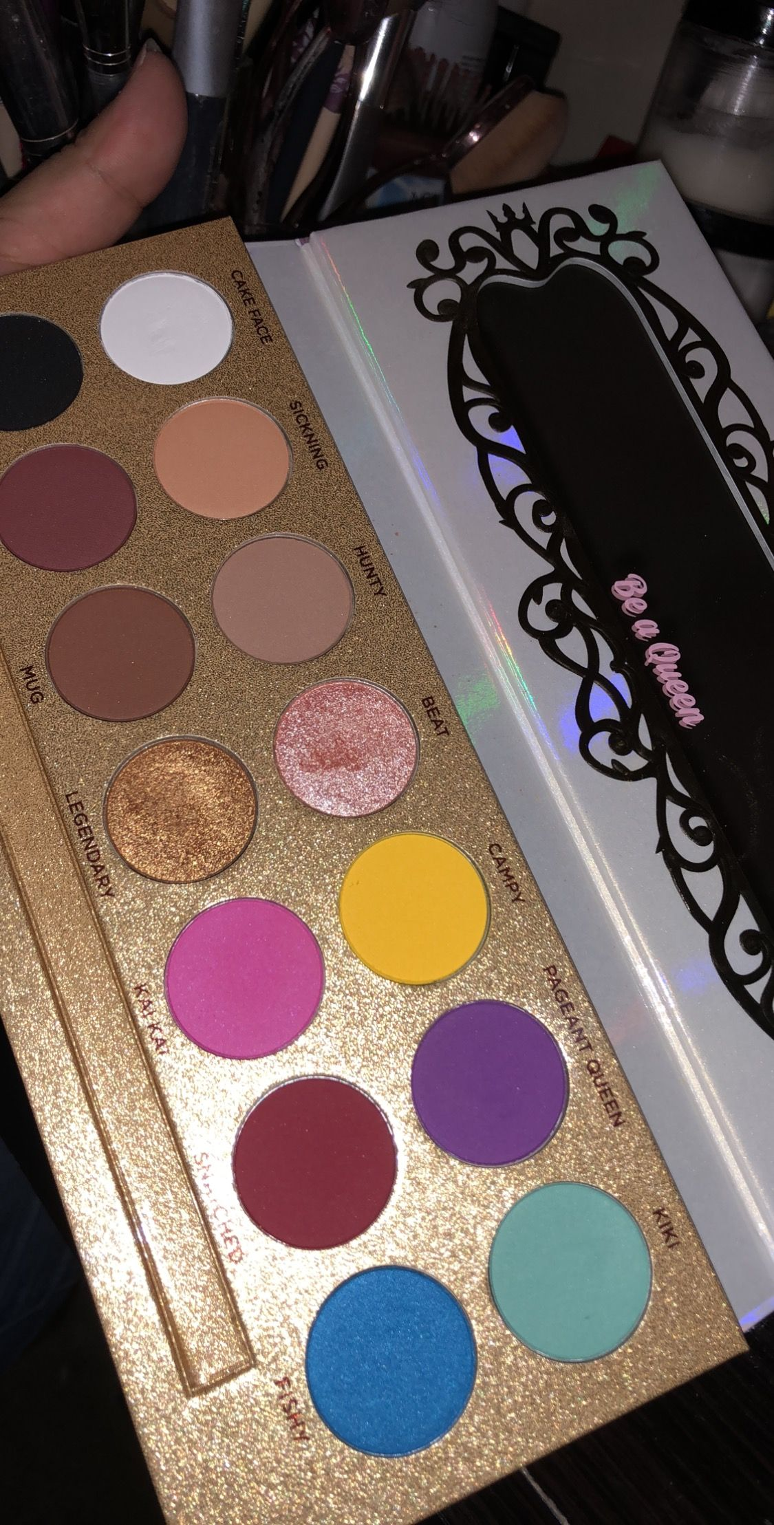 Life's A Drag Eyeshadow Palette by Lunar Beauty #11