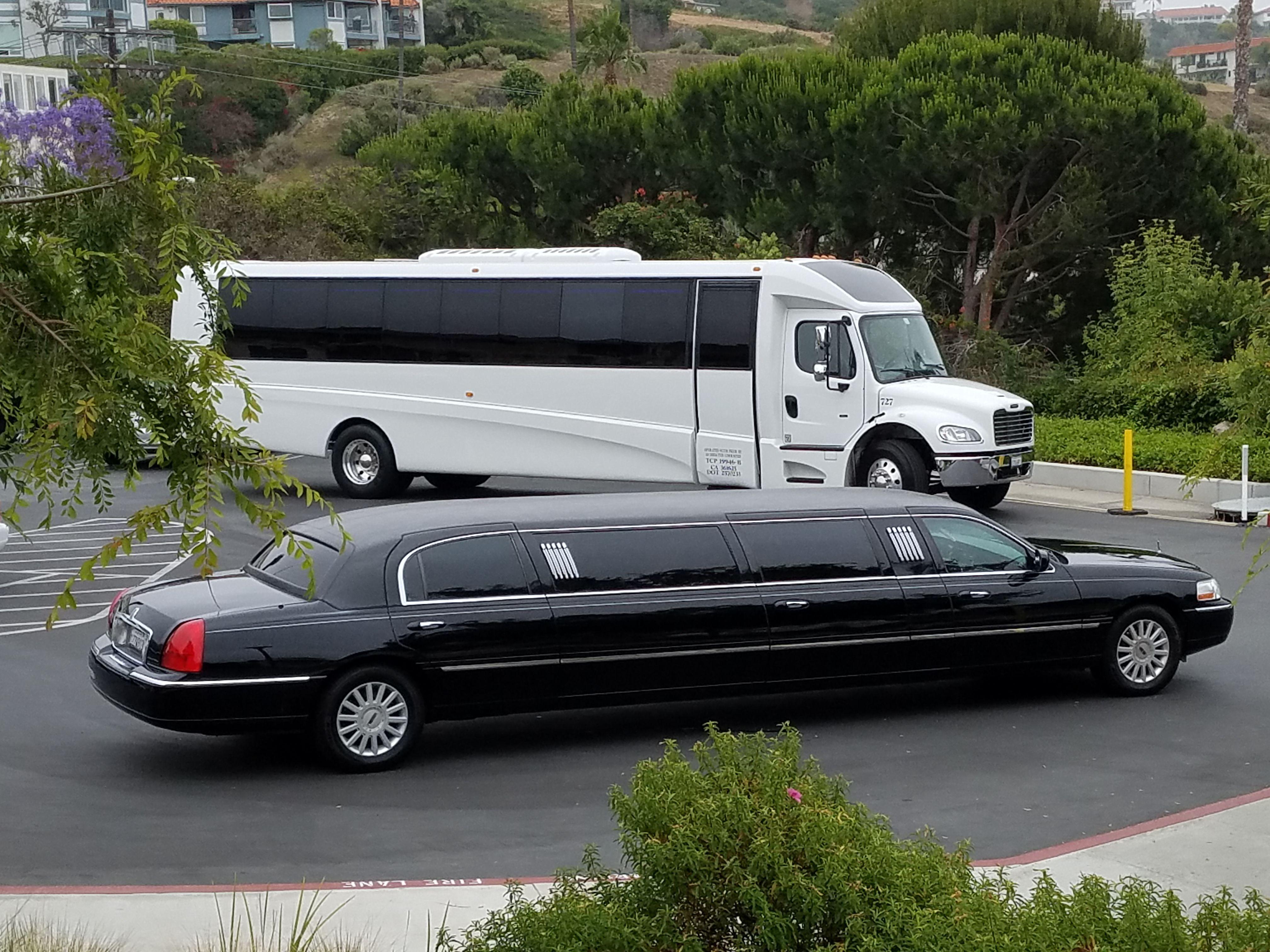 Stylish Wedding Day Transportation by Pearl Limousine