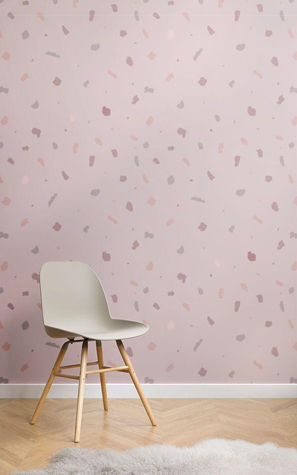 Ein Rosa Wallpaper Wandbild Kann Eine Sehr Positive Auswirkungen Auf Ihren  Raum Haben, Das Gefühl Der Ruhe Zu Schaffen, Hilft Stress Und Spannungen Zu  ...