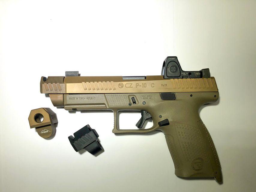 PMM CZ P10C Compensator | Accessories | Weapon storage