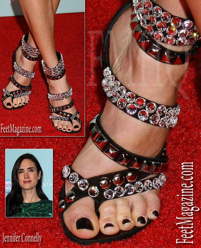 Sexy celebrity female feet