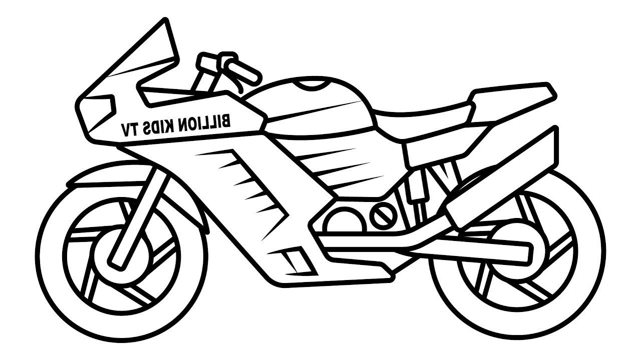 Bike Coloring Pages Coloring Pages Color Free Printable Coloring