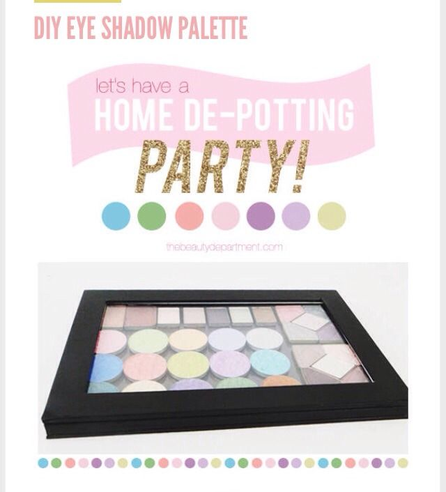 Make Your Own Make-up Palette