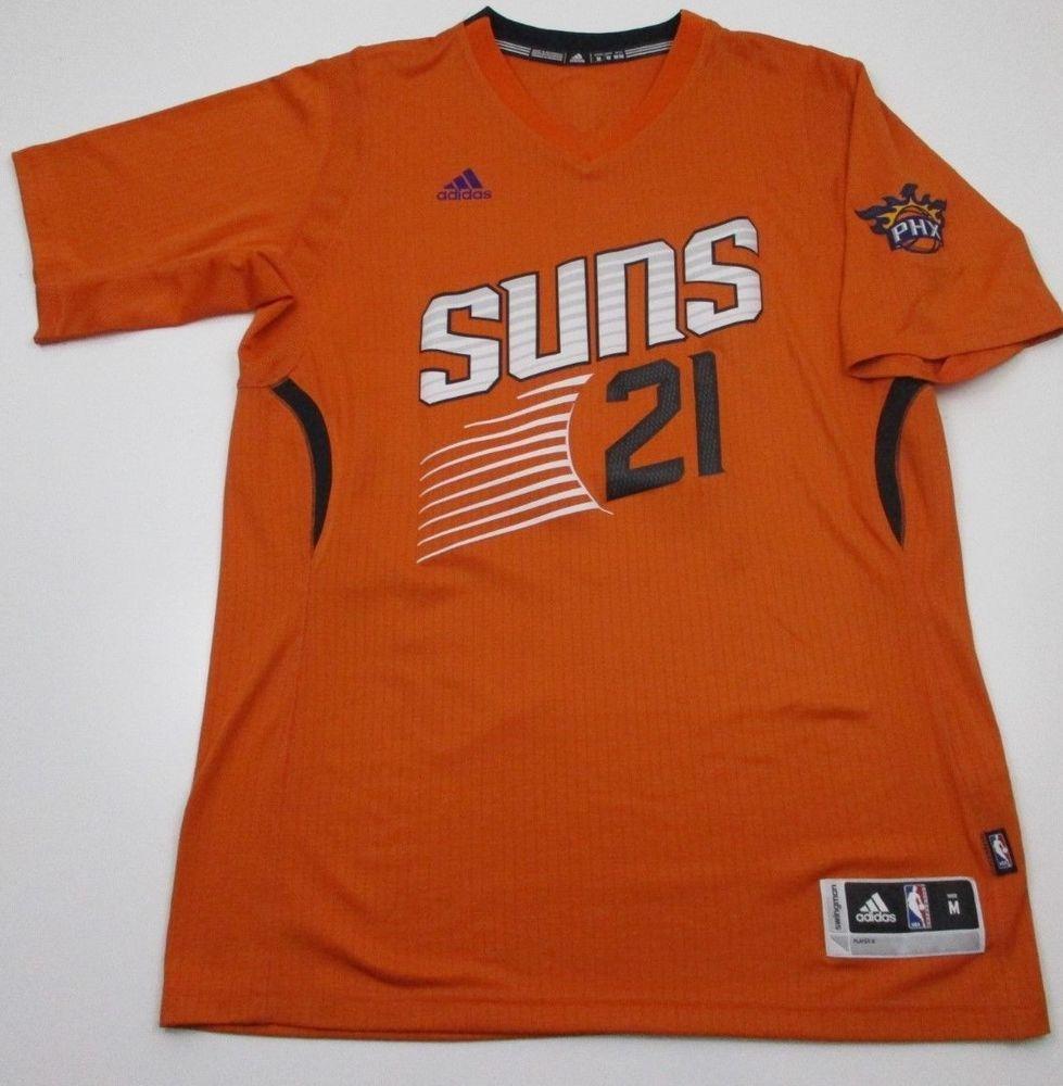 buy popular b014b a79e0 PHOENIX SUNS short sleeve Jersey M medium Adidas Alex Len 21 ...