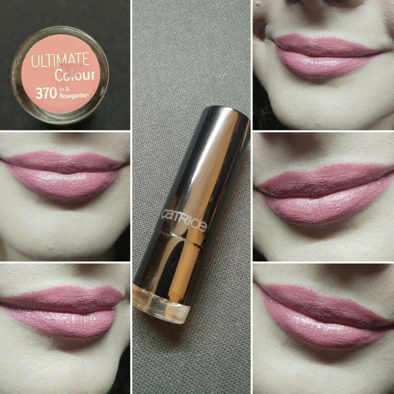Day17 Catrice Ultimate Color Lipstick 370 In A Rose Garden