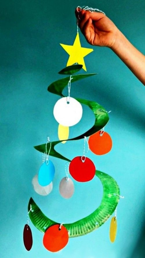 Photo of 60 Christmas ideas for crafting with paper plates for toddlers – living ideas and decorations