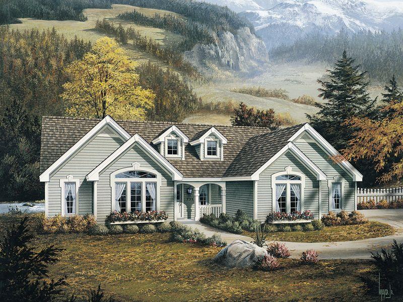 Brookmont Country Home - Plan De Construction D Une Maison