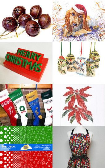 Christmas is coming! by Patricia Johnson on Etsy--Pinned with TreasuryPin.com