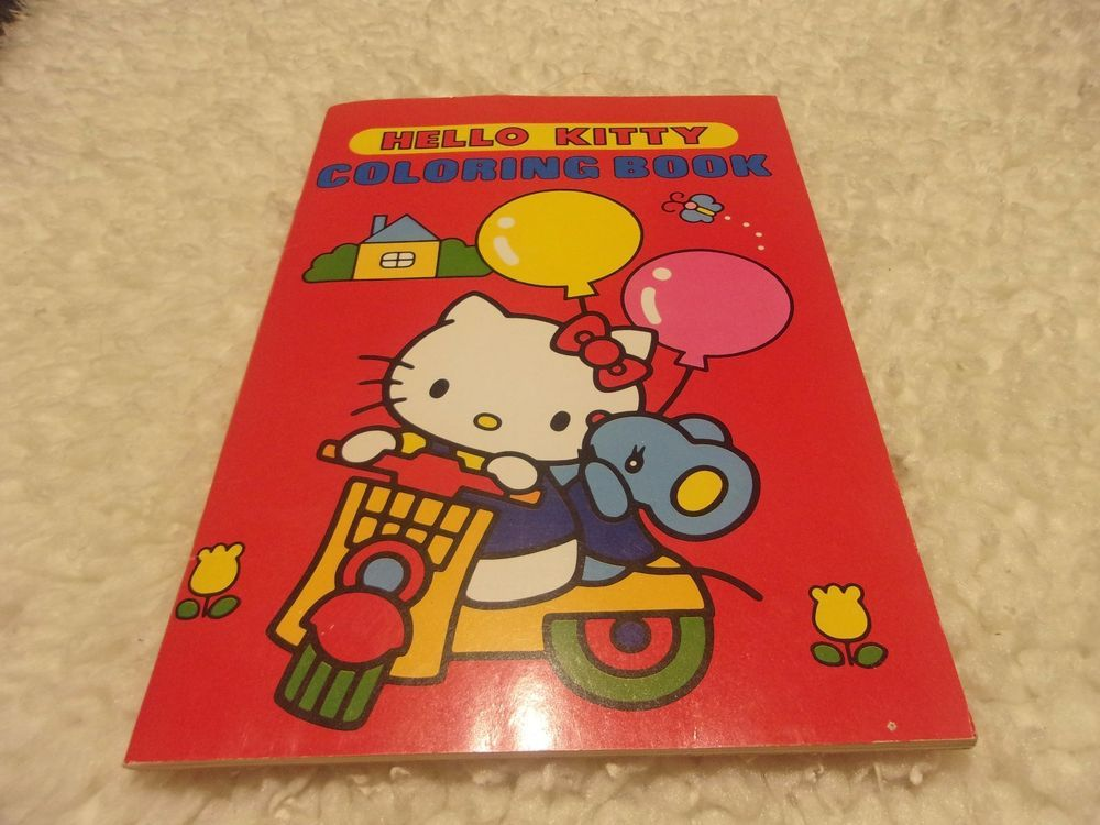 41a7c1dbb Vintage 1981 Hello Kitty Coloring Book Sanrio Japan unused stickers 4 pages  used | Books, Children & Young Adults, Other Children & Young Adults | eBay!