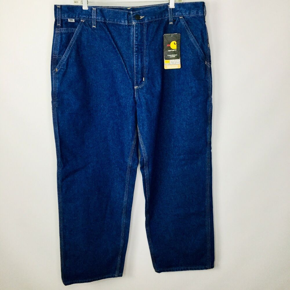 51920ace NEW Carhartt FR Flame Resistant Mens 40 x 30 Original Fit Jeans NFPA 2112 # Carhartt #Carpenter. Find this Pin and more ...
