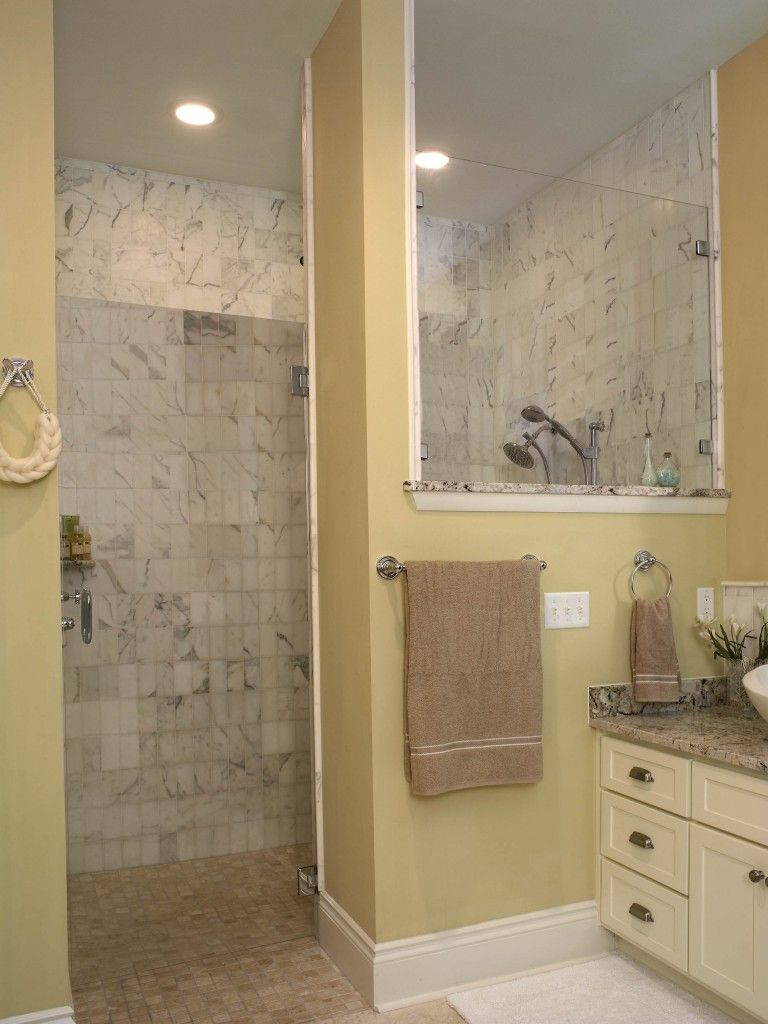 Bathroom doorless shower ideas - Ideas With Corner Door Doorless Designs